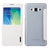Чехол-книжка для Samsung Galaxy A7 (Baseus Primary Color Series Smart Window Leather Case) (белый) - Чехол для телефонаЧехлы для мобильных телефонов<br>Чехол плотно облегает корпус и гарантирует надежную защиту телефона от царапин, потертостей и других внешний воздействий.<br>