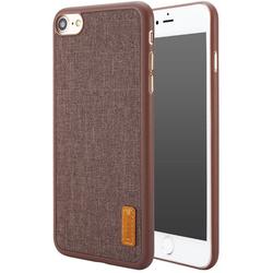 Чехол-накладка для Apple iPhone 7 (Baseus Grain Case WIAPIPH7-BW08) (коричневый)