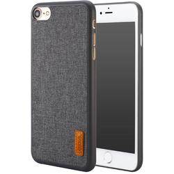Чехол-накладка для Apple iPhone 7 (Baseus Grain Case WIAPIPH7-BW0G) (серый)