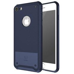 Чехол-накладка для Apple iPhone 7 (Baseus Shield Case ARAPIPH7-TS15) (темно-синий)