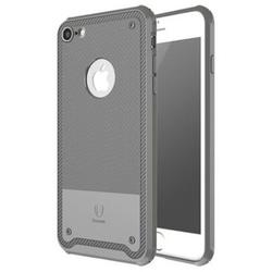 Чехол-накладка для Apple iPhone 7 (Baseus Shield Case ARAPIPH7-TS0G) (серый)