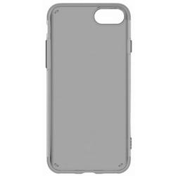 Чехол-накладка для Apple iPhone 7 (Baseus Simple Series Case Anti-Scratch ARAPIPH7-C01) (прозрачный, черный)