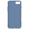 Чехол-накладка для Apple iPhone 7 (Baseus Simple Series Case Anti-Scratch ARAPIPH7-C03) (прозрачный, синий) - Чехол для телефонаЧехлы для мобильных телефонов<br>Чехол плотно облегает корпус и гарантирует надежную защиту телефона от царапин, потертостей и других внешний воздействий.<br>