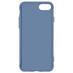 Чехол-накладка для Apple iPhone 7 (Baseus Simple Series Case Anti-Scratch ARAPIPH7-C03) (прозрачный, синий)