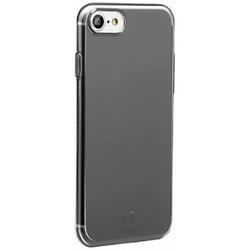 Чехол-накладка для Apple iPhone 7 (Baseus Simple Series Case With-Pluggy ARAPIPH7-A01) (прозрачный, черный)