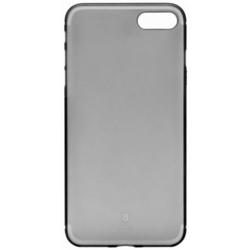 Чехол-накладка для Apple iPhone 7 (Baseus Slim Case WIAPIPH7-CT01) (прозрачный, черный)