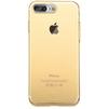 Чехол-накладка для Apple iPhone 7 Plus (Baseus Simple Series Case Clear ARAPIPH7P-B0V) (прозрачный, золотистый) - Чехол для телефонаЧехлы для мобильных телефонов<br>Чехол плотно облегает корпус и гарантирует надежную защиту телефона от царапин, потертостей и других внешний воздействий.<br>