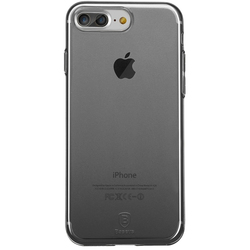 Чехол-накладка для Apple iPhone 7 Plus (Baseus Simple Series Case With-Pluggy ARAPIPH7P-A01) (прозрачный, черный)