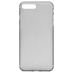 Чехол-накладка для Apple iPhone 7 Plus (Baseus Slim Case WIAPIPH7P-CT01) (прозрачный, черный)