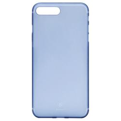 Чехол-накладка для Apple iPhone 7 Plus (Baseus Slim Case WIAPIPH7P-CT03) (прозрачный, синий)