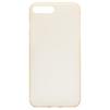 Чехол-накладка для Apple iPhone 7 Plus (Baseus Slim Case WIAPIPH7P-CT0V) (прозрачный, золотистый) - Чехол для телефонаЧехлы для мобильных телефонов<br>Чехол плотно облегает корпус и гарантирует надежную защиту телефона от царапин, потертостей и других внешний воздействий.<br>