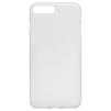 Чехол-накладка для Apple iPhone 7 Plus (Baseus Slim Case WIAPIPH7P-CT02) (прозрачный, белый) - Чехол для телефонаЧехлы для мобильных телефонов<br>Чехол плотно облегает корпус и гарантирует надежную защиту телефона от царапин, потертостей и других внешний воздействий.<br>