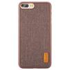 Чехол-накладка для Apple iPhone 7 Plus (Baseus Grain Case WIAPIPH7P-BW08) (коричневый) - Чехол для телефонаЧехлы для мобильных телефонов<br>Чехол плотно облегает корпус и гарантирует надежную защиту телефона от царапин, потертостей и других внешний воздействий.<br>