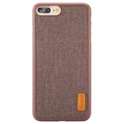 Чехол-накладка для Apple iPhone 7 Plus (Baseus Grain Case WIAPIPH7P-BW08) (коричневый)