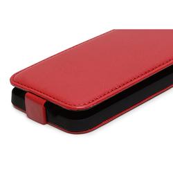 Чехол-флип для ZTE Blade Q Lux 4G (iBox Business YT000006895) (красный)