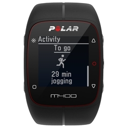 Polar M400 (HR) (черный)
