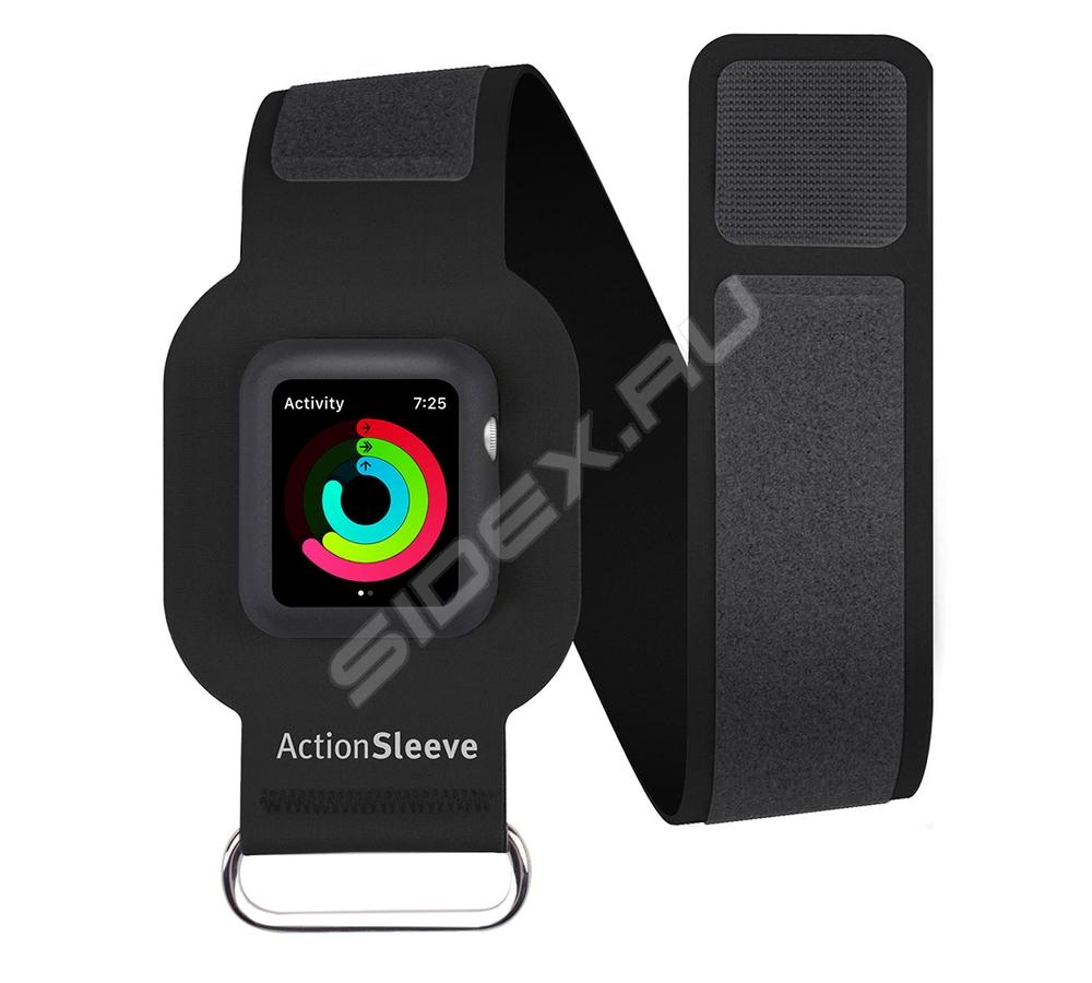 Cпортивный чехол на руку Twelve South Action Sleeve Armband для Apple Watch 38мм L нейлон красный 12