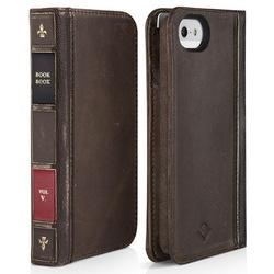 Чехол для Apple iPhone 5 (Twelve South BookBook 12-1232) (коричневый)