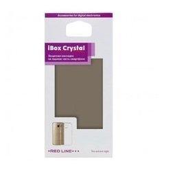 Силиконовый чехол-накладка для LG K8 (iBox Crystal YT000010433) (серый)