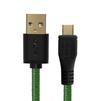 Дата-кабель USB AM-microUSB 5pin 0.15m (Greenconnect GCR-UA12MCB6-BB2S-G-0.15m) (зеленый, черный) - Usb, hdmi кабель, переходникUSB-, HDMI-кабели, переходники<br>Кабель позволит подключать мобильные телефоны, смартфоны, планшеты и другие USB устройства с разъемом micro USB к ПК, ноутбук, Macbook. Бескислородная медь, 28/28 AWG, USB 2.0, оплетка нейлон, экран, армированный, морозостойкий.<br>