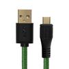 Дата-кабель USB AM-microUSB 5pin 3m (Greenconnect GCR-UA12MCB6-BB2S-G-3.0m) (зеленый, черный) - Usb, hdmi кабель, переходникUSB-, HDMI-кабели, переходники<br>Кабель позволит подключать мобильные телефоны, смартфоны, планшеты и другие USB устройства с разъемом micro USB к ПК, ноутбук, Macbook. Бескислородная медь, 28/28 AWG, USB 2.0, оплетка нейлон, экран, армированный, морозостойкий.<br>