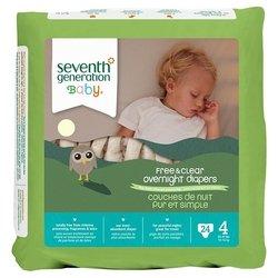 Seventh Generation Seventh Generation трусики ночные Free & Clear 4 (10-16 кг) 24 шт.