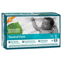 Seventh Generation Seventh Generation Touch of Cloth 1 (3-6 кг) 32 шт.