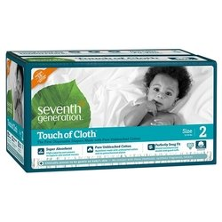 Seventh Generation Seventh Generation Touch of Cloth 2 (5-8 кг) 80 шт.