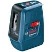Bosch GLL 3 X (0601063CJ0) - Нивелир, лазерный уровеньНивелиры и лазерные уровни<br>Лазерный нивелир, крест + дополнительная вертикальная линия, рабочий диапазон - 15 м, диапазон самонивелирования - ± 4°.<br>