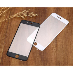 Защитное стекло для Apple iPhone 7 Plus (3D Fiber 3943) (черный)