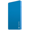 Mophie Powerstation Mini 3000mAh (синий) - Внешний аккумуляторУниверсальные внешние аккумуляторы<br>Внешний аккумулятор, емкость 3000mAh, один USB порт, 2.1А, индикация заряда, кабель microUSB.<br>