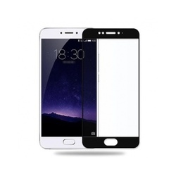 Защитное стекло для Meizu MX6 (3D Fiber 3955) (черный)