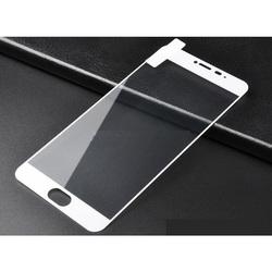 Защитное стекло для Meizu Pro 6 (3D Fiber 3954) (белый)