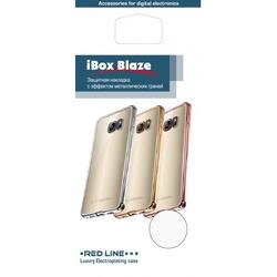 Силиконовый чехол-накладка для Meizu M3 Max (iBox Blaze YT000010617) (черная рамка)