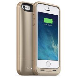 Чехол-аккумулятор для Apple iPhone 5, 5S (Mophie Juice Pack Air) (золотистый)