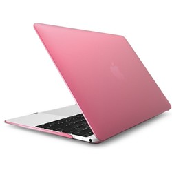 Чехол-накладка для Apple Macbook 12 (Novelty Electronics Transparent Hard Shell Case) (Cranberry)