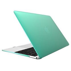 Чехол-накладка для Apple Macbook 12 (Novelty Electronics Transparent Hard Shell Case) (светло-зеленый)