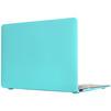 Чехол-накладка для Apple Macbook 12 (Novelty Electronics Transparent Hard Shell Case) (Tiffany) - Чехол для ноутбукаЧехлы для ноутбуков<br>Чехол-накладка для защиты внешней поверхности ноутбука от повреждений, не препятствует доступу к портам, экрану, клавиатуре и камере.<br>