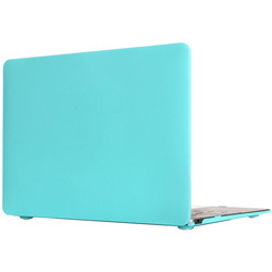 Чехол-накладка для Apple Macbook 12 (Novelty Electronics Transparent Hard Shell Case) (Tiffany)