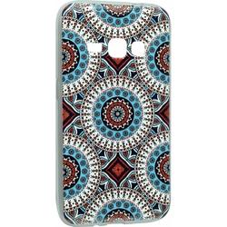 Силиконовый чехол-накладка для Samsung Galaxy J1 2016 (iBox Fashion YT000009375) (дизайн №100)