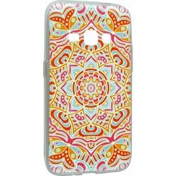 Силиконовый чехол-накладка для Samsung Galaxy J1 2016 (iBox Fashion YT000009376) (дизайн №116)