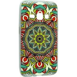 Силиконовый чехол-накладка для Samsung Galaxy J1 2016 (iBox Fashion YT000009374) (дизайн №56)