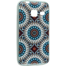 Силиконовый чехол-накладка для Samsung Galaxy J1 mini 2016 (iBox Fashion YT000009369) (дизайн №100)
