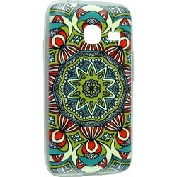 Силиконовый чехол-накладка для Samsung Galaxy J1 mini 2016 (iBox Fashion YT000009368) (дизайн №56)