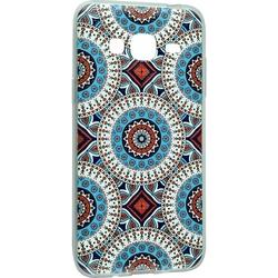 Силиконовый чехол-накладка для Samsung Galaxy J3 2016 (iBox Fashion YT000009381) (дизайн №100)