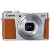 Canon PowerShot G9 X Mark II (серебристо-коричевый) - Фотоаппарат цифровойЦифровые фотоаппараты<br>20.90 МП, 1&amp;amp;quot;, Zoom: 3х, RAW, Wi-Fi, до 8.20 к/с, видео до 1920x1080.<br>