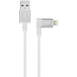 Кабель Lightning - USB для Apple iPhone 5, 5C, 5S, SE, 6, 6 plus, 6S, 6S Plus, 7, 7 Plus, iPad 4, Air, Air 2, Pro 9.7, Pro 12.9, PRO, mini 1, mini 2, mini 3, mini 4 (Moshi 99MO023128) (белый)