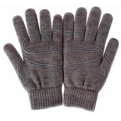 Перчатки для сенсорных экранов (5 пальцев, размер L) (Moshi 99MO065031) (серый)
