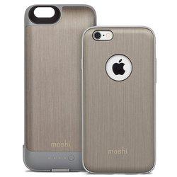 Чехол-аккумулятор для Apple iPhone 6, 6S 2750 mAh (Moshi iGlaze Ion 99MO079204) (серый)