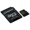 Kingston microSDHC 32Gb Class10 UHS-I U3 + SD адаптер (SDCG/32GB) - Карты памятиКарты памяти<br>Карта памяти microSDHC, объем 32Гб, Class10, UHS-I U3, скорость чтения 90Мб/с, записи 45Мб/с.<br>